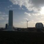 Bouw windpark Oud Dintel is begonnen