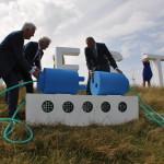 Aanleg, transport, en installatie van windpark Westermeerwind was uniek!