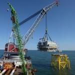 Siemens installeert netverbinding voor windpark op zee
