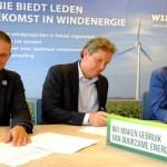 10-jarig contract tussen Windunie en Greenchoice