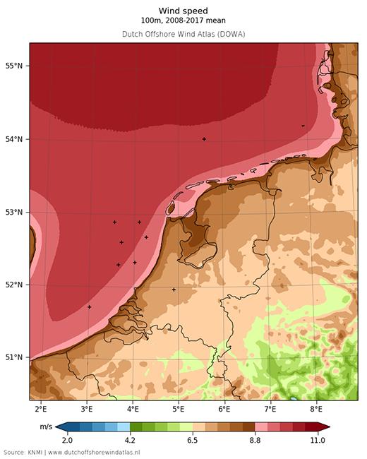 Lancering nieuwe Dutch Offshore Wind Atlas