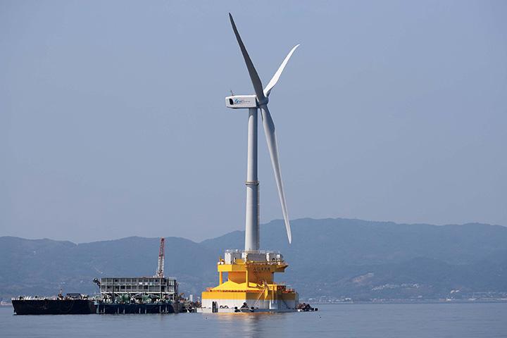 Japan stelt ambitieus doel voor offshore windenergie