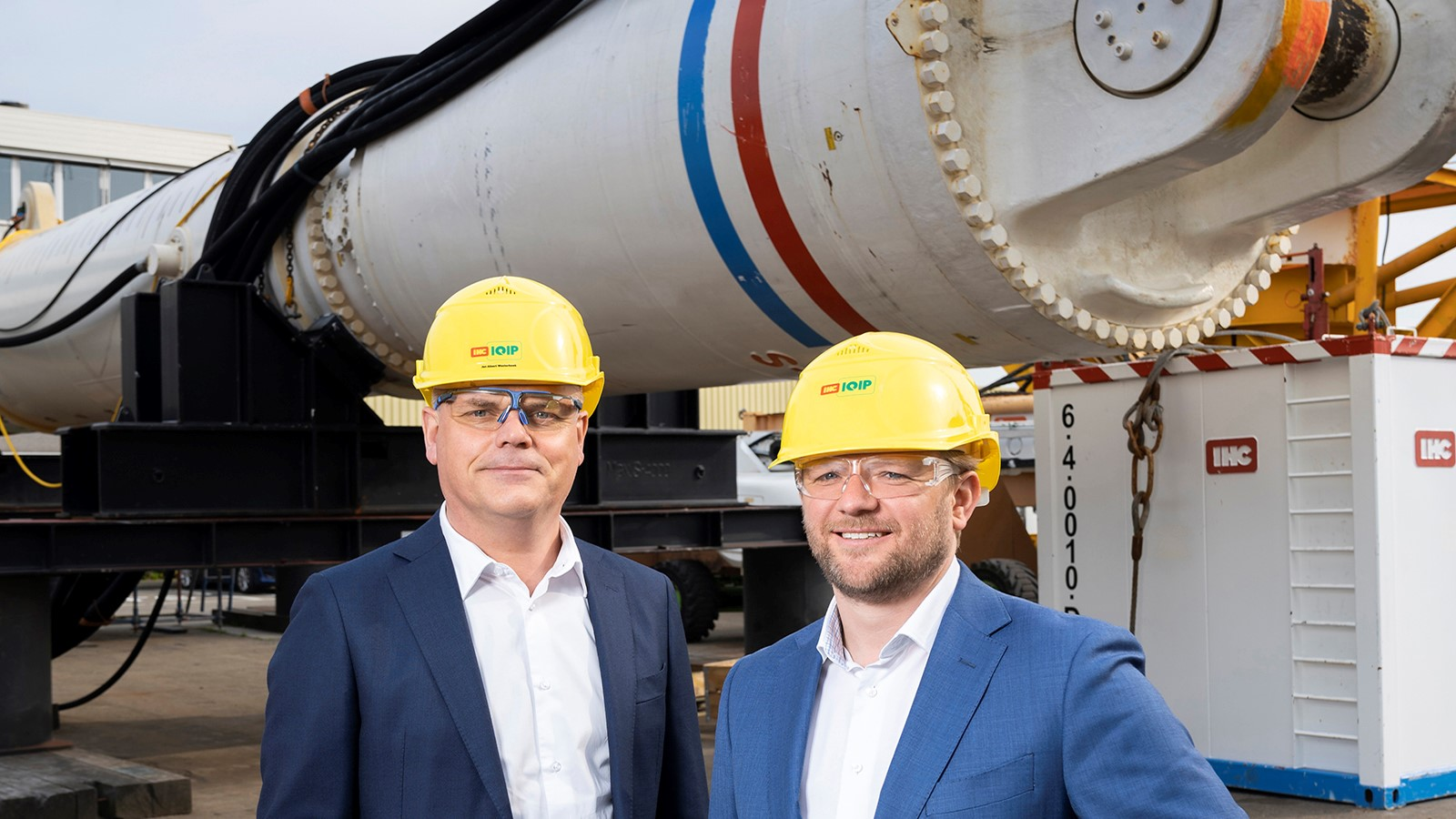 IHC IQIP investeert in ontwikkeling BLUE Piling Technology