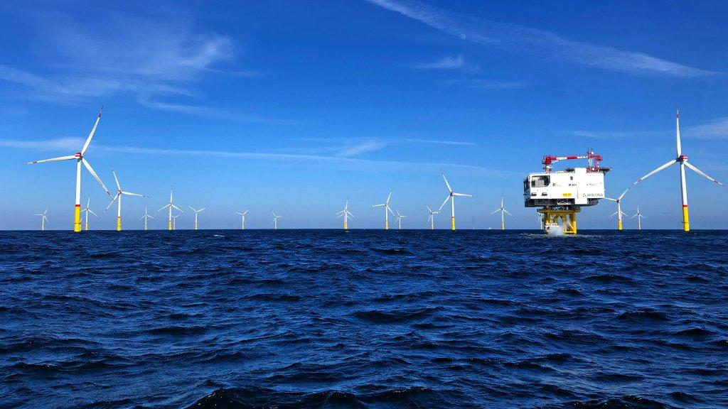 Offshore windpark Arkona officieël geopend