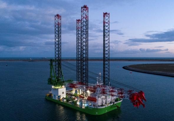 DEME doet onderzoek naar drijvende betonnen substructuur windpark Hywind Tampen