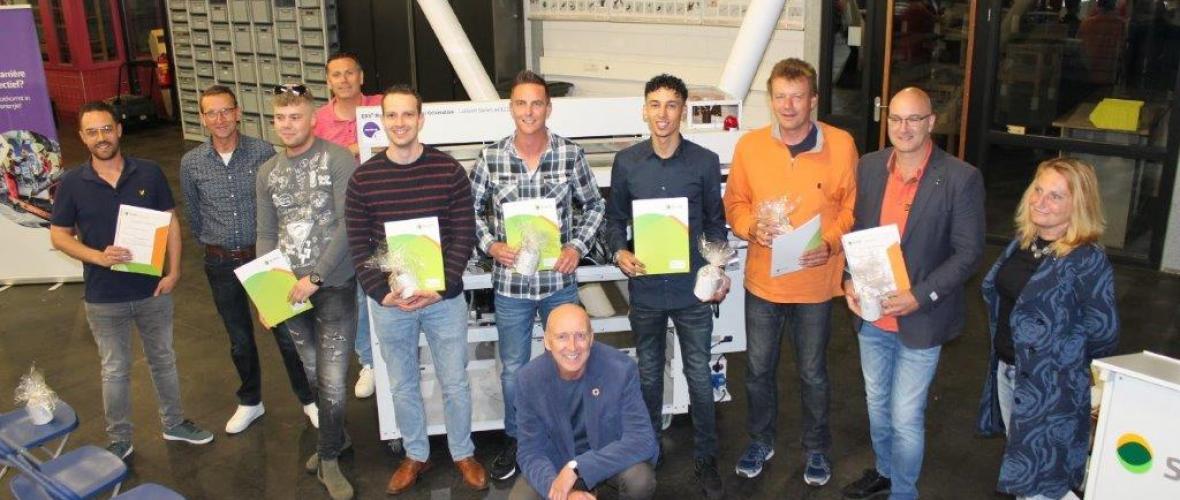 Scalda certificeert eerste cursisten 'Onderhoud aan Windturbines'
