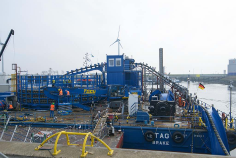Samenwerking Sealane en Hulst Innovation Cable Equipment in Eemshaven