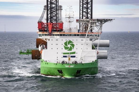 DEME werkt mee aan eerste Franse offshore windpark