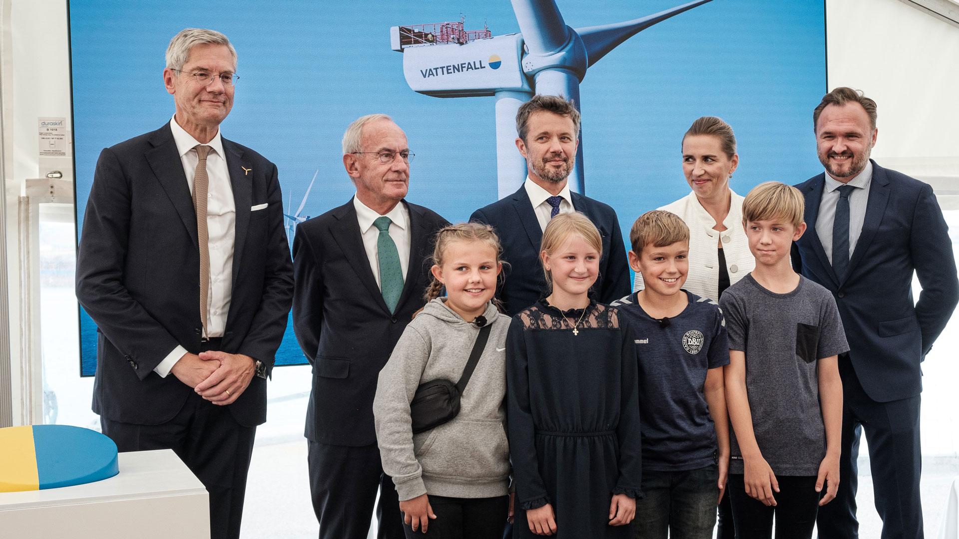 Grootste offshore windpark van Scandinavië geopend