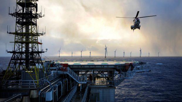 Equinor realiseert drijvende offshore windpark voor de stroomvoorziening van twee olie- en gasplatforms