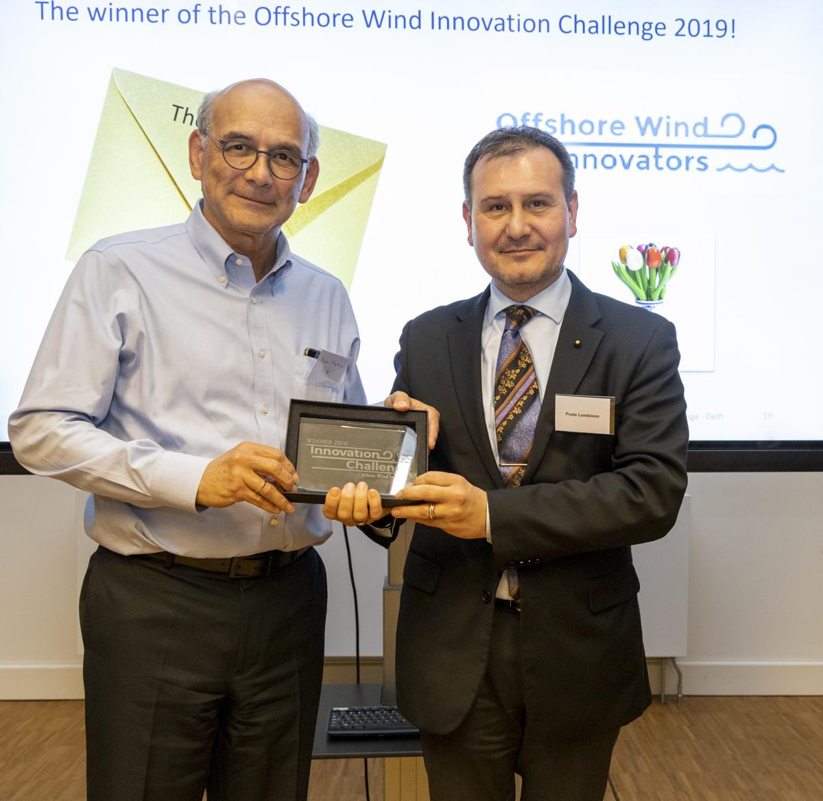 Marine Performance Systems winnaar Offshore Wind Innovation Challenge 2019
