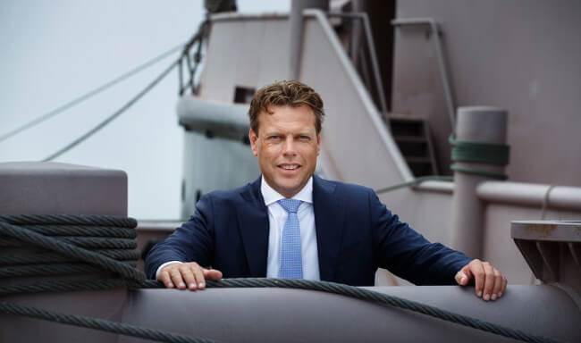 Arnout Damen nieuwe CEO Damen Shipyards