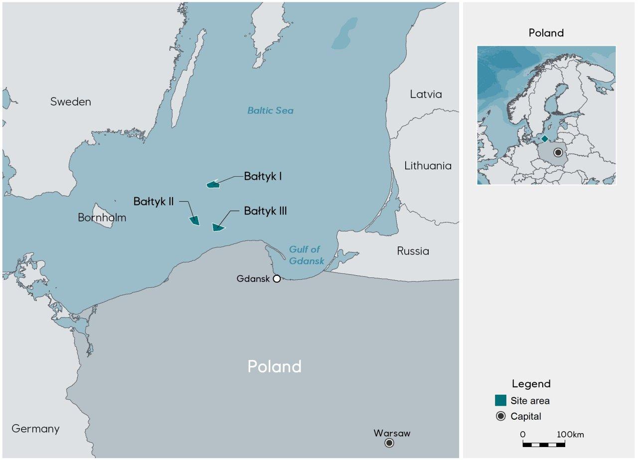 Equinor koopt aandeel van 50% van Pools offshore windparkproject