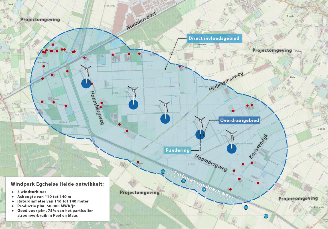 Windpark Egchelse Heide krijgt groen licht