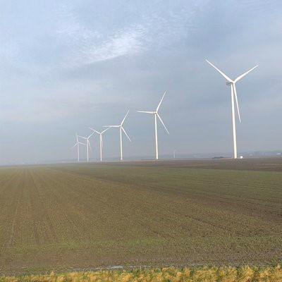 Windpark Waardpolder is operationeel