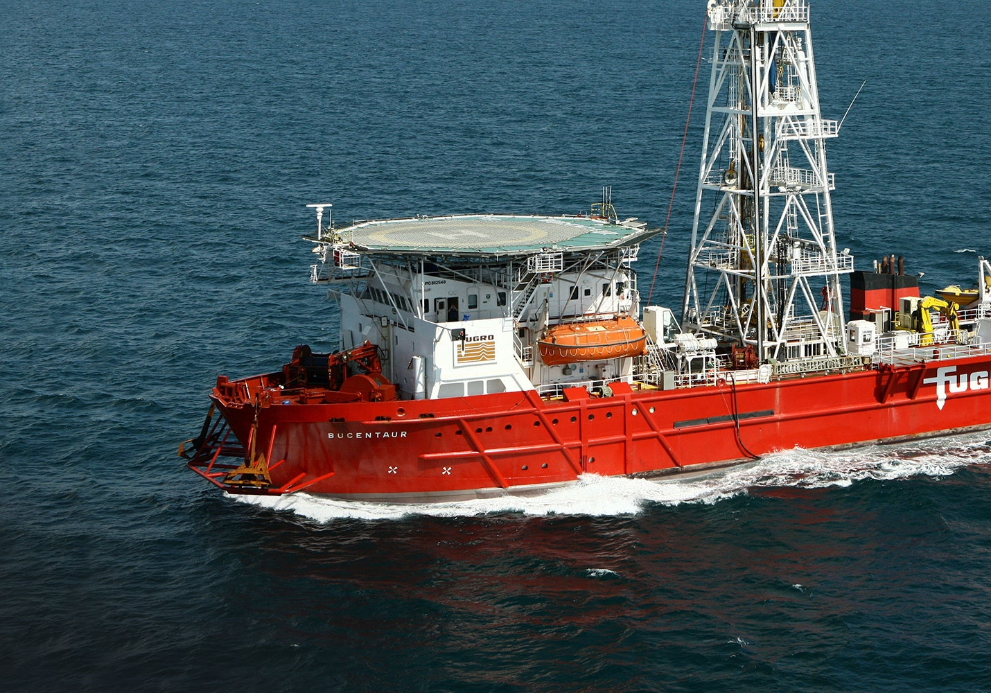 Fugro gaat bodemonderzoek doen in Ten Noorden van de Waddeneilanden windparkzone