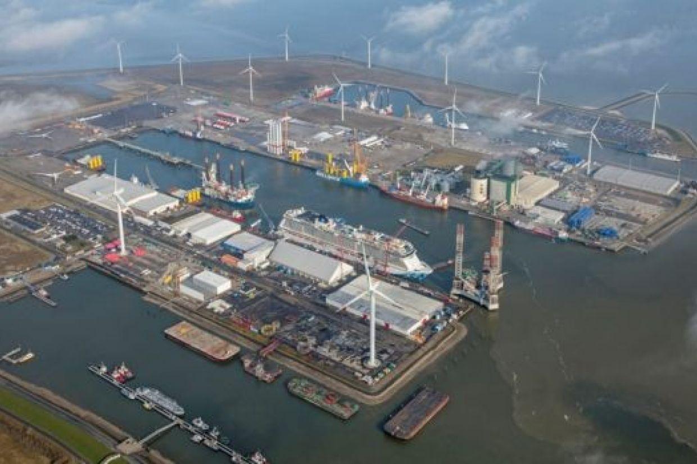 Mega windparken op zee moeten bijdragen aan grootschalige groene waterstofproductie in Groningen