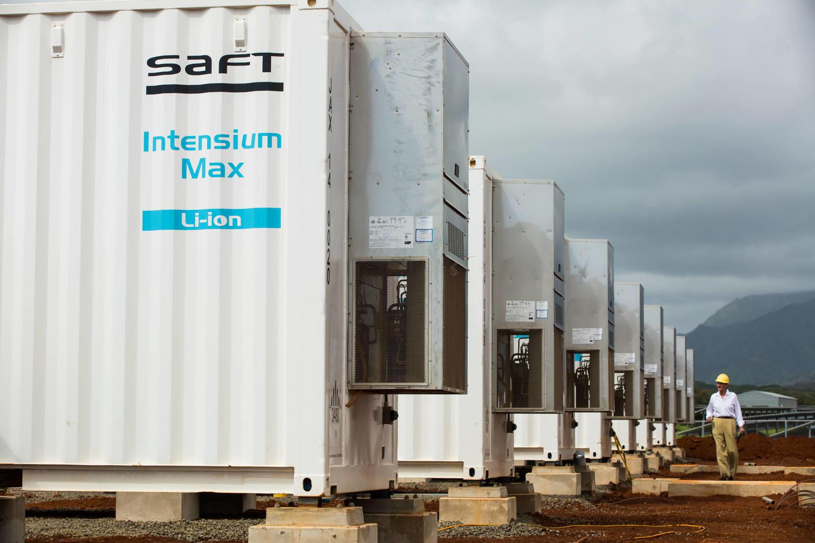 Total realiseert grootste op batterij gebaseerde energieopslagsysteem in Frankrijk