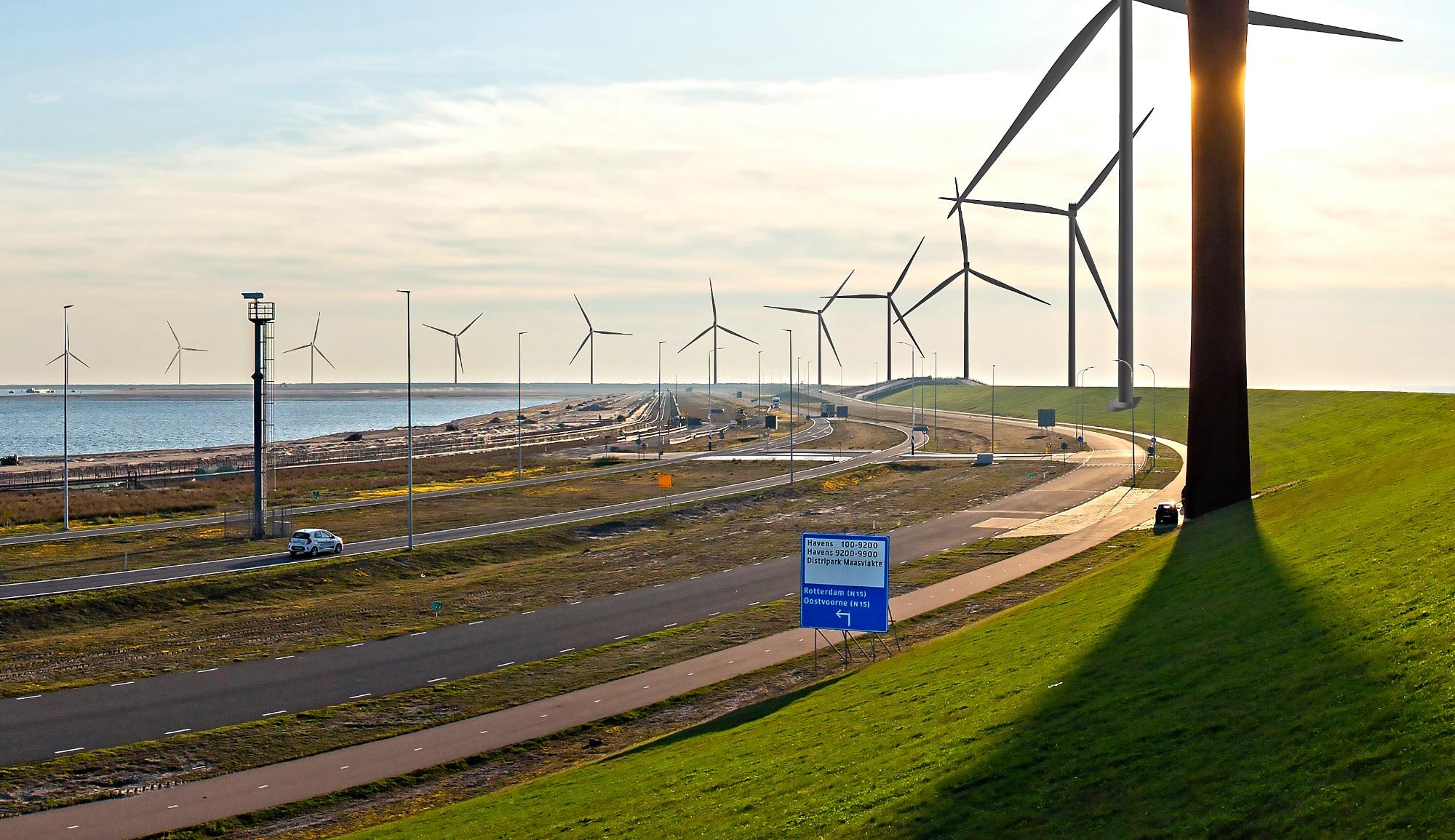 WP Maasvlakte 2 eerste subsidieloze windpark op land