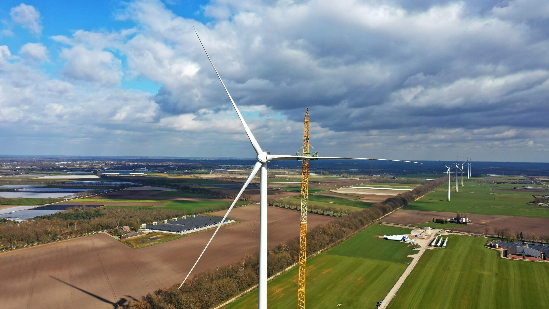 Nordex installeert onshore windturbine met grootste rotordiameter in Nederland