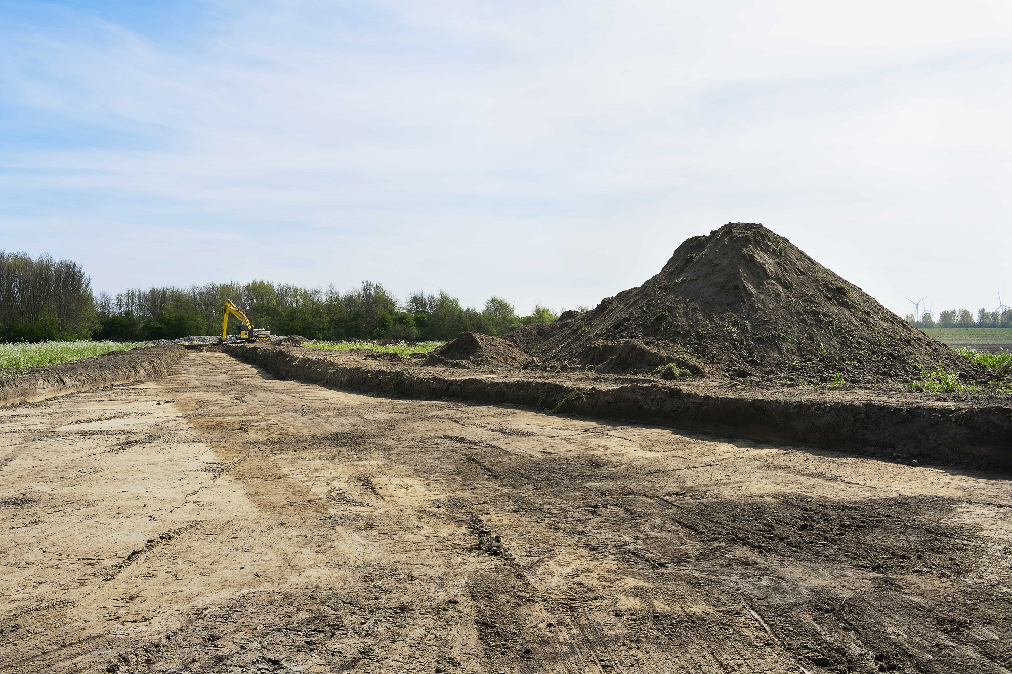 Werkzaamheden aan Windpark Blaakweg van start