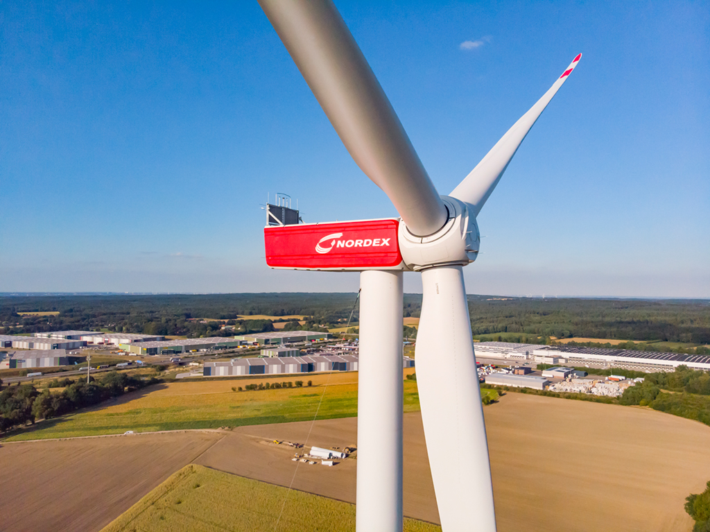 Nordex ontvangt voor 1,6 GW aan orders in Q1 2020