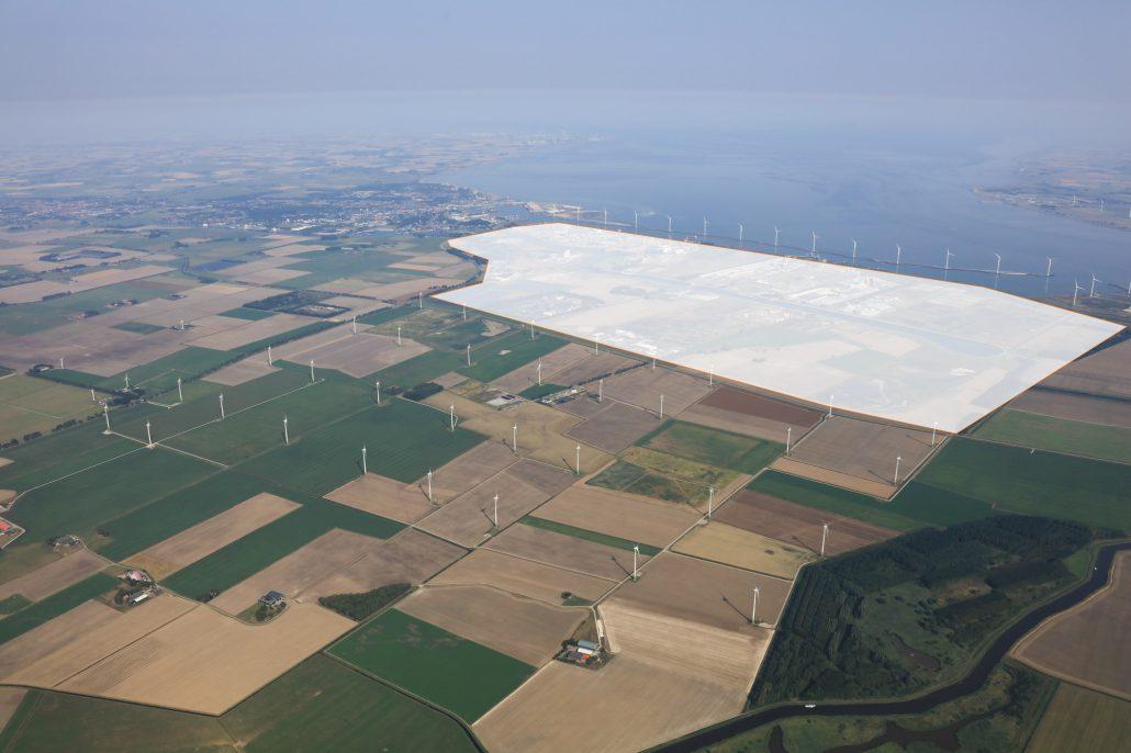 Bouwactiviteiten Windpark Oosterhorn gestart