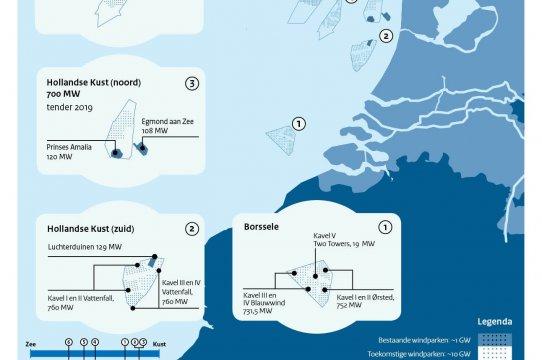 Tender Hollandse Kust (noord) kavel V open