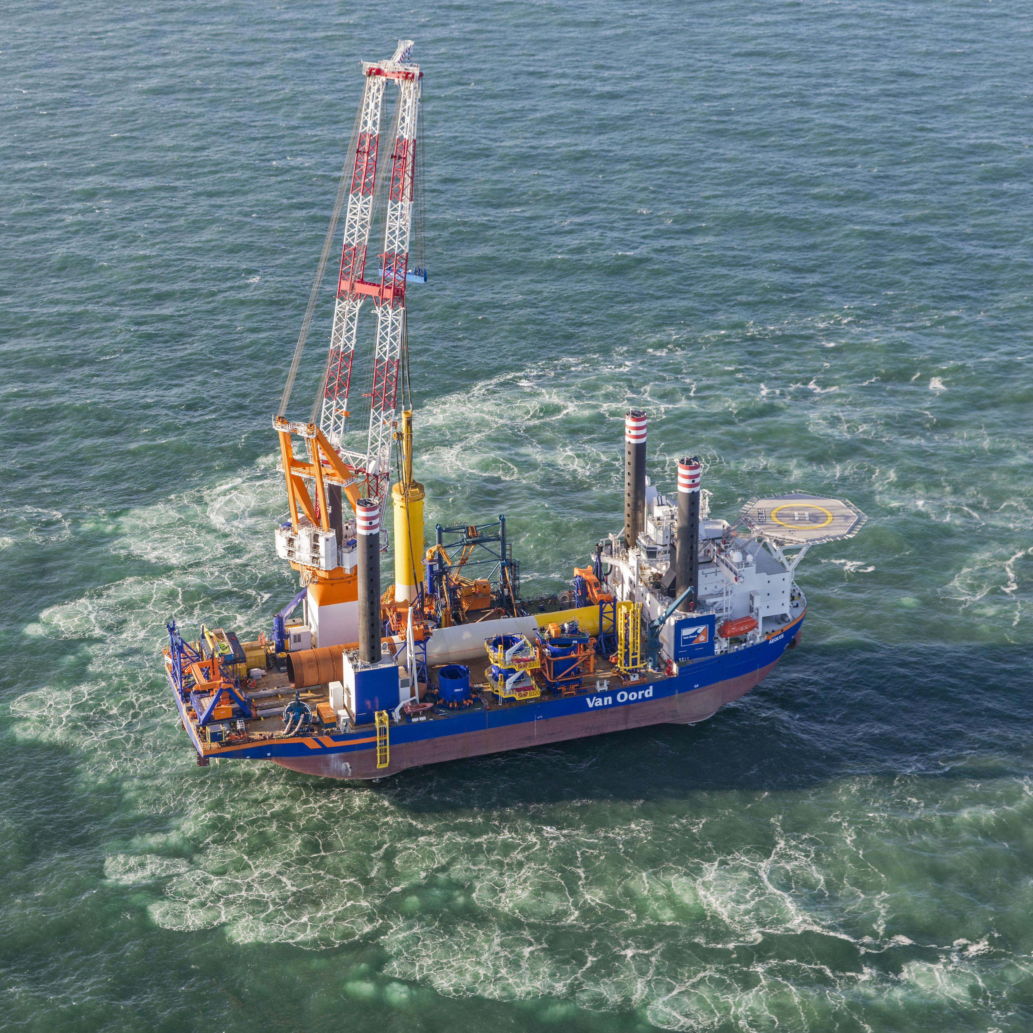 Offshore wind waait gunstig voor Van Oord