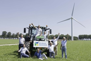 Windpark Zeewolde maakt afronding financiering en turbinecontract bekend