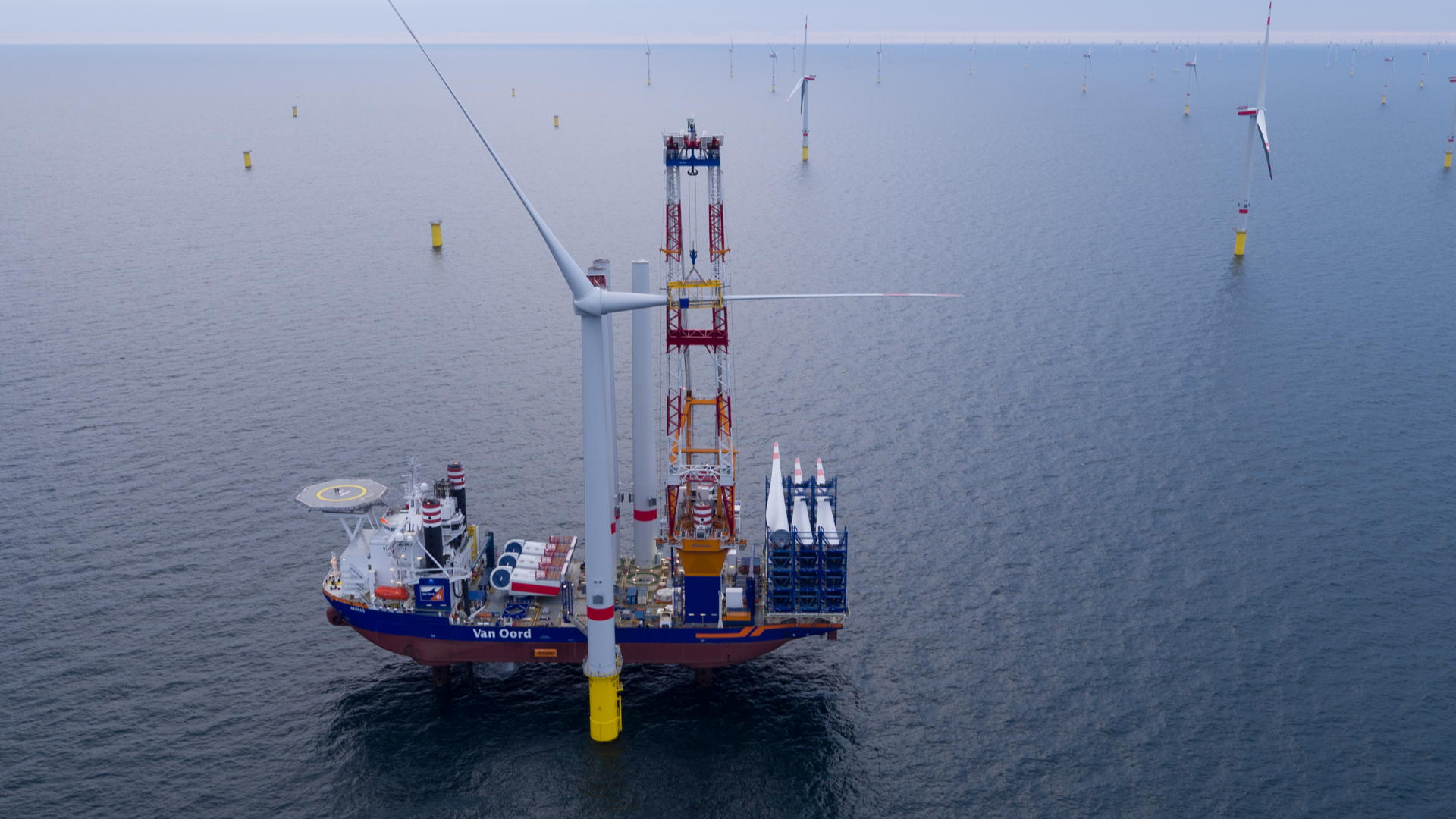 DE - Wetswijziging voor 40 GW aan offshore wind capaciteit in 2040 aangenomen