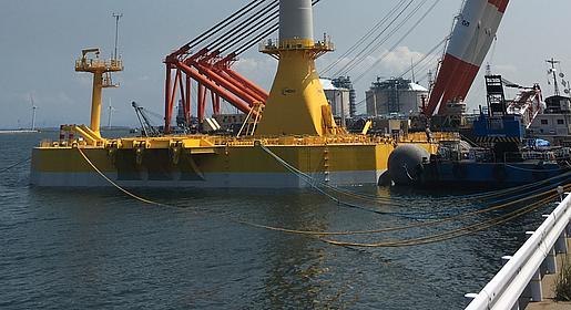 Japan lanceert tender voor drijvend offshore windpark