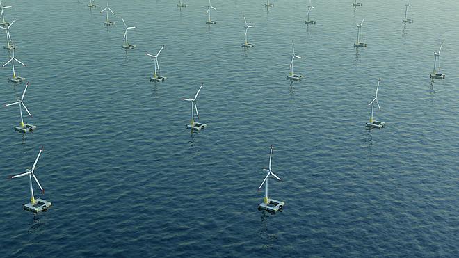Drie bedrijven bundelen krachten voor de ontwikkeling van offshore windenergie met drijvende fundamenten