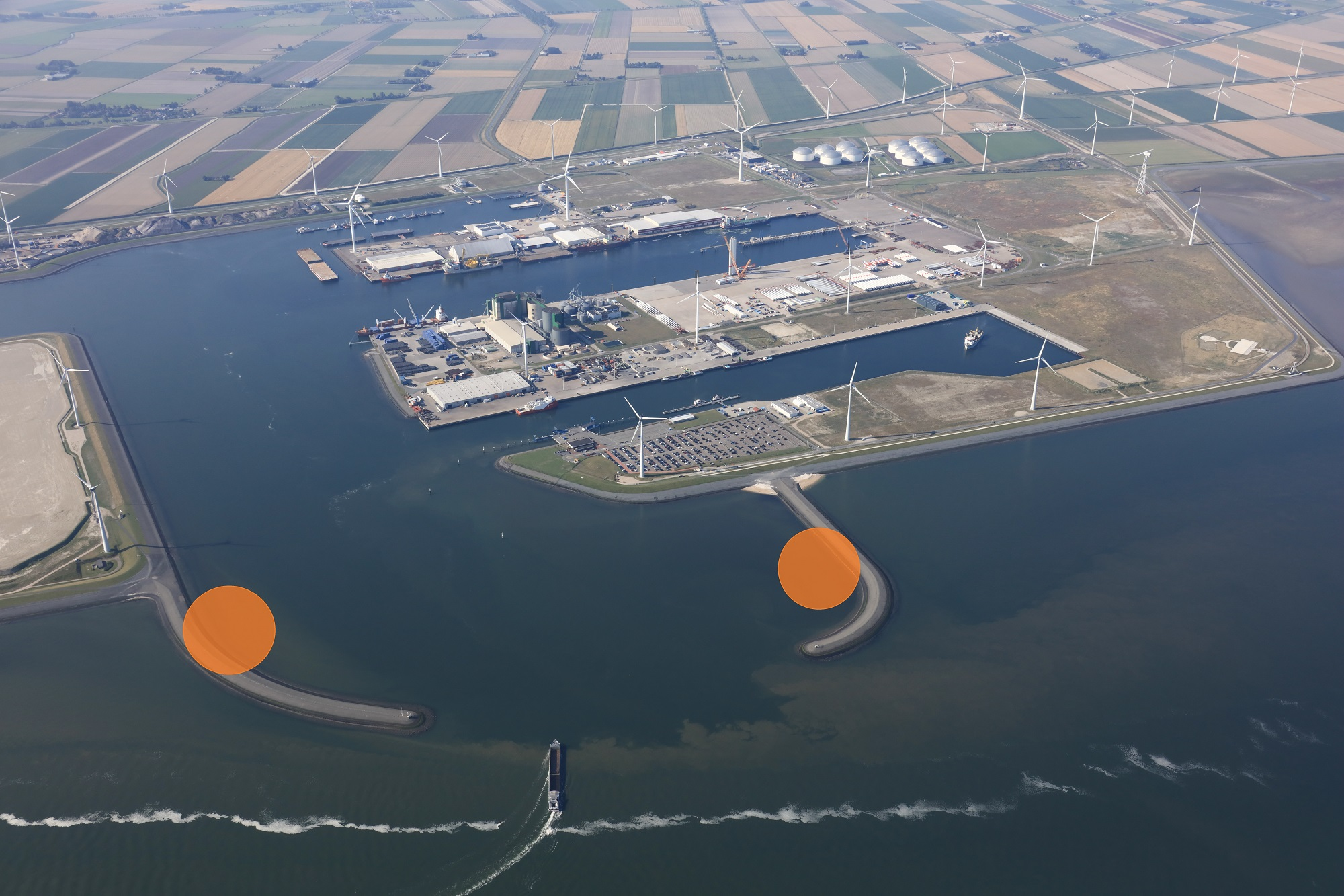 Bouw Windpark Strekdammen kan van start