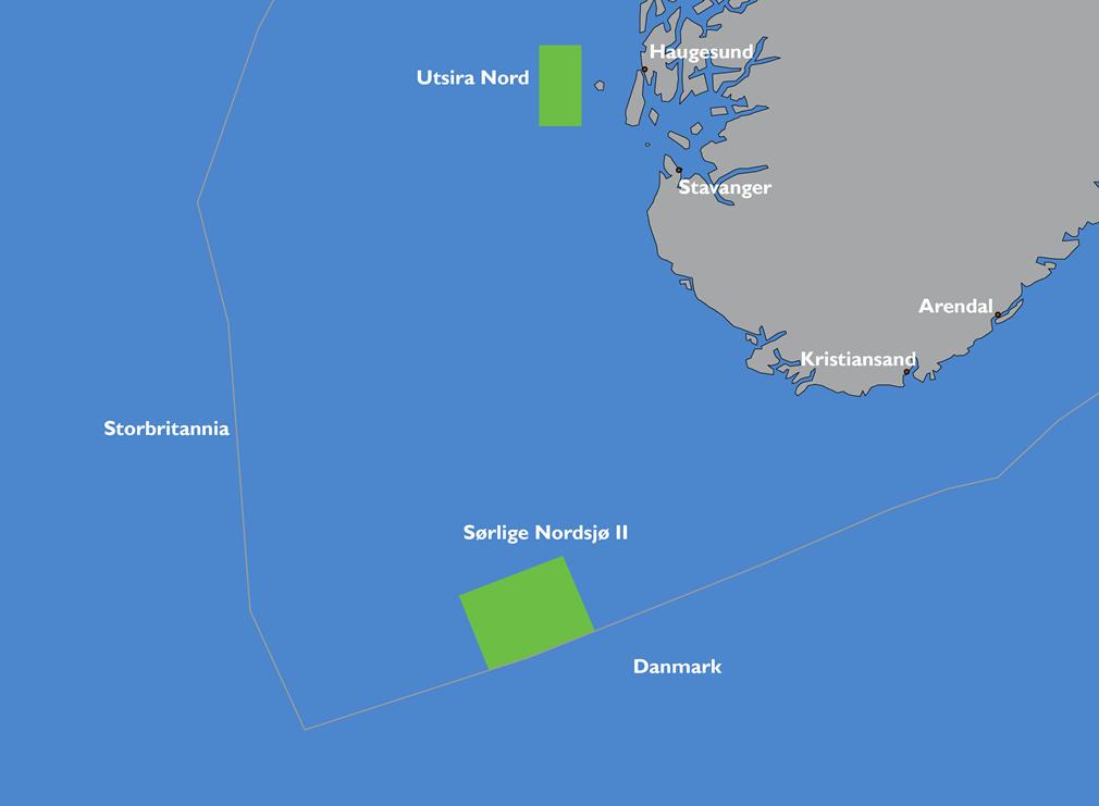 Noorwegen opent op 1 januari 2021 twee gebieden voor offshore wind