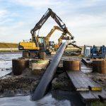 Laatste kabels voor eerste deel van exportkabeltraject Windpark Fryslân liggen