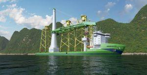 Huisman levert kranen voor nieuw installatieschip voor de Taiwanese offshore windmarkt