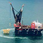 Sleipnir installeert jacket voor het Hollandse Kust Zuid Alpha offshore station