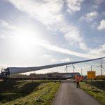 Bouw Windpark Blaakweg gereed