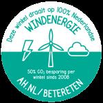 Albert Hein gaat over op 100% Nederlandse windenergie