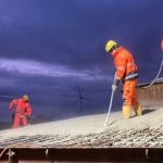 Eerste fundament gestort van Windpark Egchelse Heide