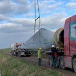 Laatste turbine van oude Windpark Piet de Wit verwijderd