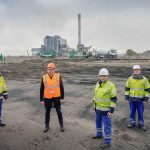 Startsein bouw Windpark De Groene Delta
