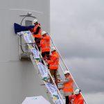 Eerste turbine Windpark Zeewolde feestelijk in gebruik genomen