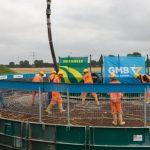 Windcombinatie Dura-GMB rondt windturbinefundatie bouw af in Zeewolde