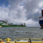 Onderwaterinstallatie derde kabel Hollandse Kust (zuid) in volle gang