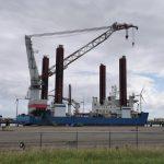 1,6 miljard euro mogelijkheden voor exploitanten van jack-up schepen tot 2030 in het vervangen van grote onderdelen van offshore windturbines in Europa