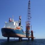 Eerste funderingspaal offshore windpark Gemini is geplaatst