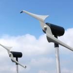 Micro-windturbine zorgt voor stroom woningen