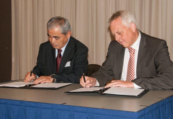 Tekenen samenwerkingsovereenkomst (kl)
